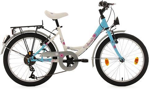 DACAPO Jaunimo dviratis 20 Zoll Mėlynai balta...