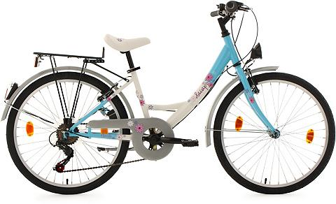 DACAPO Jaunimo dviratis 24 Zoll Mėlynai balta...