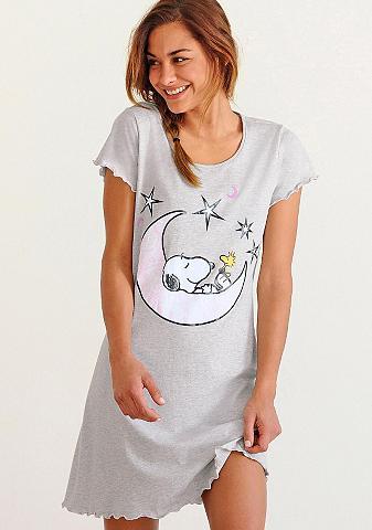 Peanuts Naktiniai marškiniai su Snoopy-Print i...