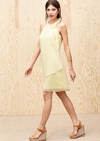 Plazdanti šifoninė suknelė