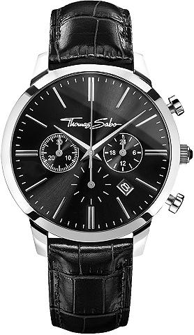 THOMAS SABO Chronografas- laikrodis »REBEL SPIRIT ...