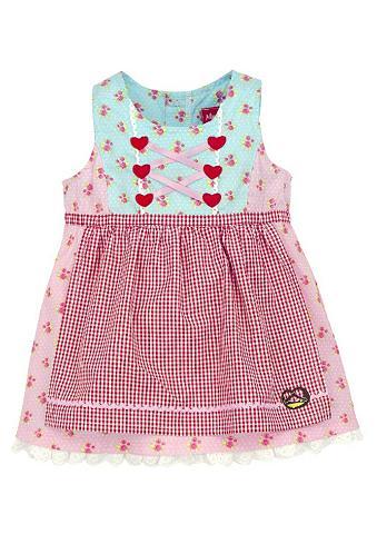 Tautinio stiliau suknelė Kinder su Zie...