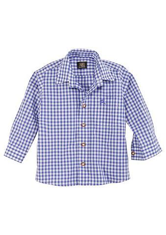 OS-TRACHTEN Trachten Vaikiški marškiniai languota