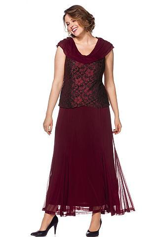 Suknelė su nėrinių
