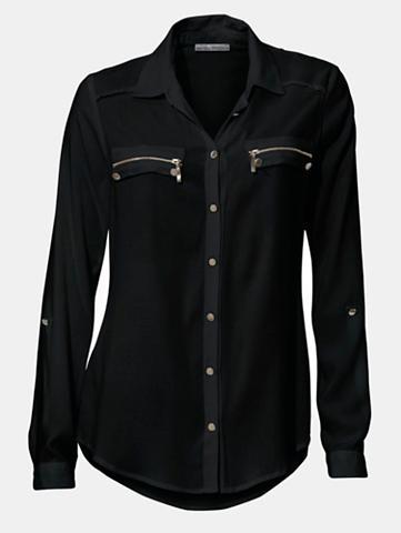 Marškiniai su rankovės zum užraitytas