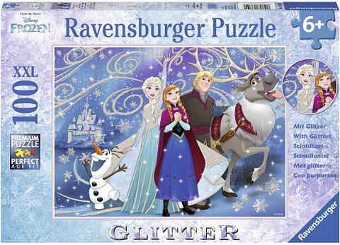 Glitzerpuzzle 100 Teile »Disney Frozen...