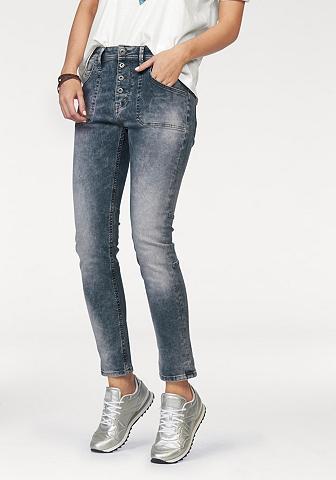 Džinsai su 5 kišenėmis »Tapered fit«