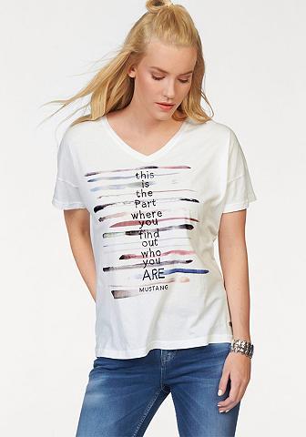Marškinėliai »V Neck T«