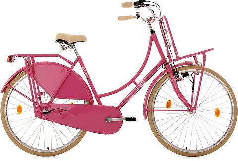 KS CYCLING Dviratis su Lastenträger 28 Zoll pink ...