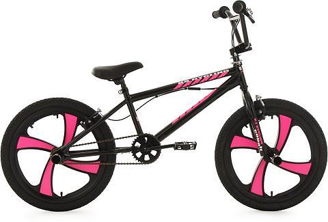 BMX dviratis 20 Zoll schwarz-pink »Cob...