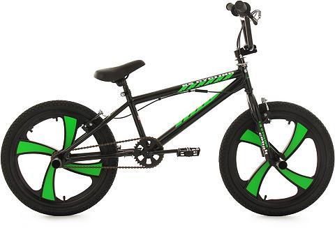 BMX dviratis 20 Zoll schwarz-gr
