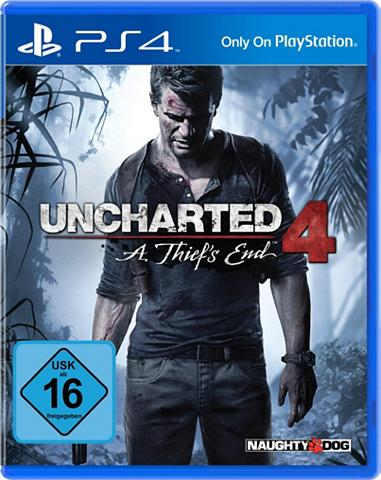 Uncharted 4: A Thief's End Play Trenir...