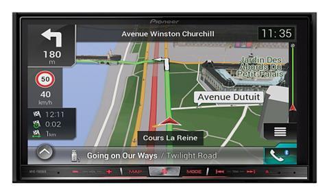 PIONEER 2-DIN Mediacenter su navigacij...