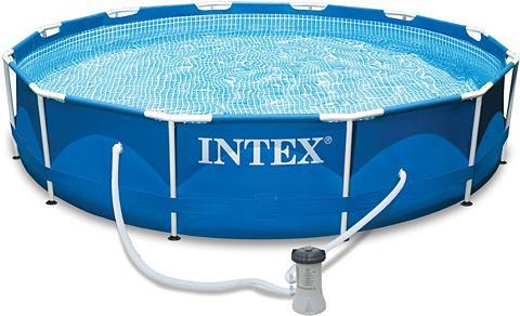 INTEX Baseinas su Filtras Ø 305 cm »Metal Fr...