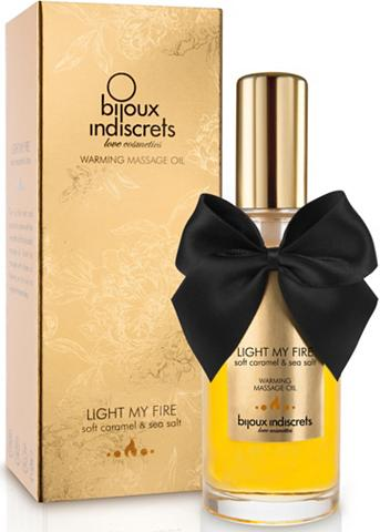 BIJOUX INDISCRETS Wärmendes Massageöl »Light my Fire«