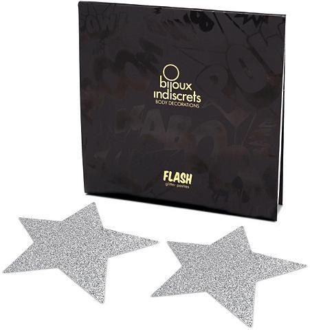 Nippelschmuck in Sternform »Flash Star...