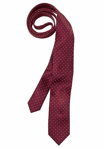 OLYMP Krawatte klassisches Pünktchenmuster