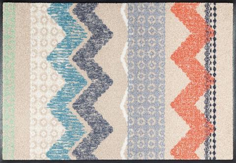 Durų kilimėlis »Zigzag« wash+dry by Kl...