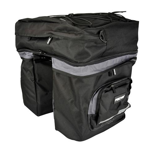 FISCHER FAHRRAEDER Dviračio bagažinės dvigubas krepšys »3...