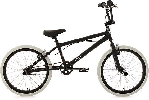 BMX dviratis 20 Zoll juoda spalva