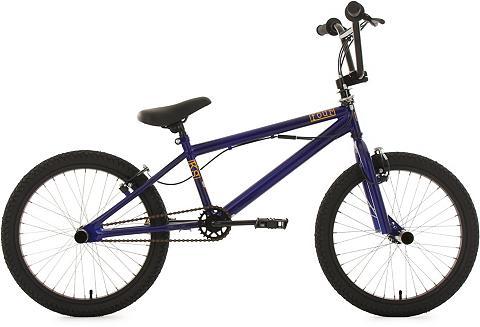 BMX dviratis 20 Zoll blau »Four«