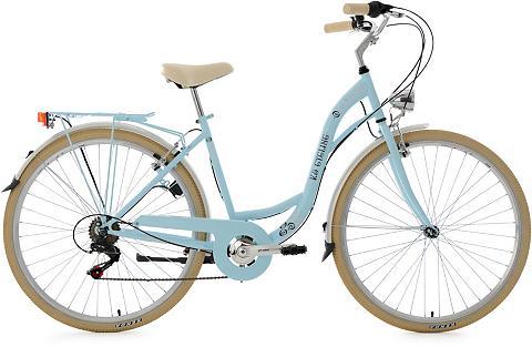 Moteriškas dviratis 28 Zoll žydra Shim...