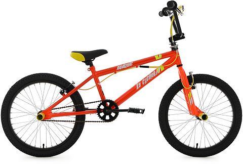 BMX dviratis 20 Zoll orange-gelb »Hedo...