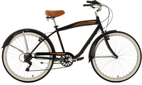 KS Cycling Cruiser »Vintage« 6 Gang Shimano Tourn...
