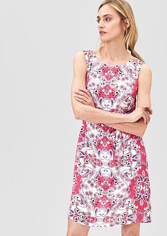 švelnus suknelė su raštas
