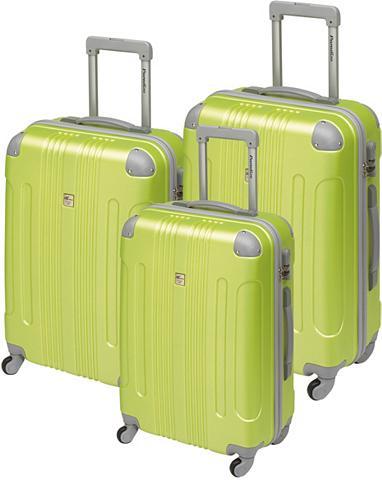 PARADISE ® Plastikinis lagaminas ant ratukų rin...