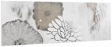Paveikslas »Blüten Mix« su Acrylfarbe ...