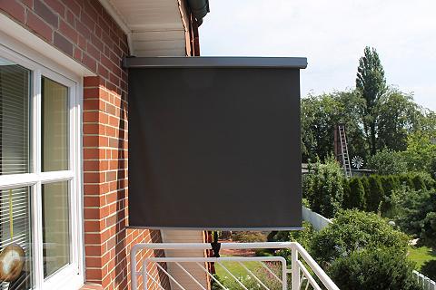 Balkonmarkise Bx H: 120 x 200 cm anthr...