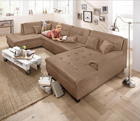 HOME AFFAIRE Sofa XXL dydžio »Bergen« patogi su mie...