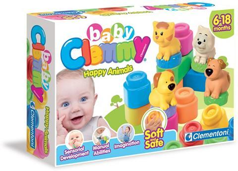 Clementoni ® Spielbausteine »Clemmy Baby Tiere« p...