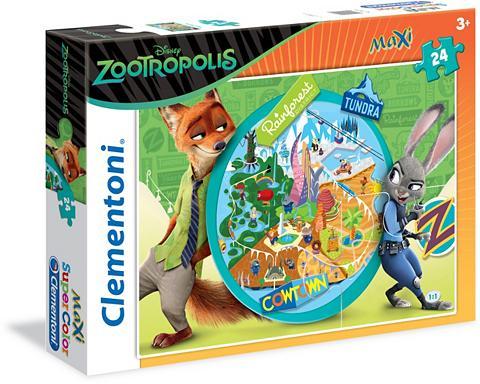 Dėlionė 24 Teile »Disney Zootropolis W...