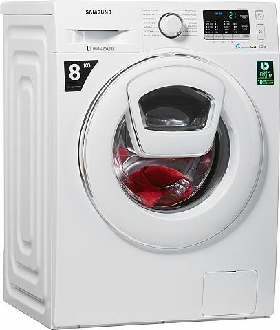 SAMSUNG Skalbimo mašina WW5500 Add Wash WW80K5...