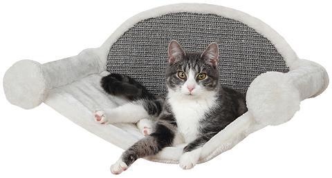 TRIXIE Pakabinamas kačių stovas su draskykle ...