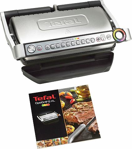 Tefal Kontaktgrill GC722D OptiGrill+ XL 2000...