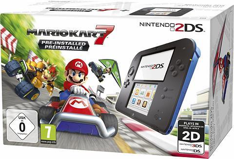 NINTENDO 2DS + Mario Kart 7 su 3 Jahren Garantie*