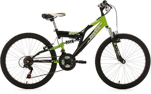 KS CYCLING Fully Kalnų dviratis 24 Zoll schw.-grü...
