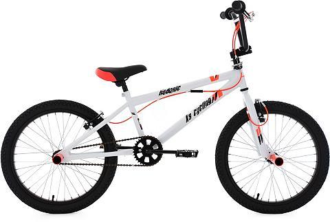 BMX dviratis 20 Zoll weiß-rot »Hedonic...