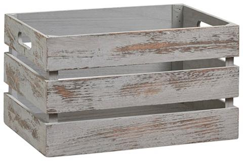 ZELLER Vintažinio stiliaus Medinė dėžutė zur ...