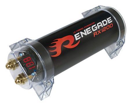 Renegade Pufferelektrolytkondensator dėl den Ei...