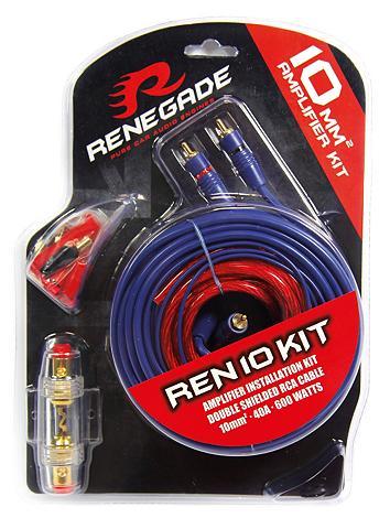 Renegade 10 mm2 Verstärker-Installations-Set 40...