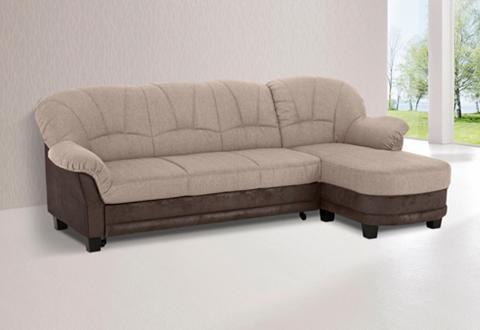 HOME AFFAIRE Kampinė sofa »Camelita« patogi su mieg...