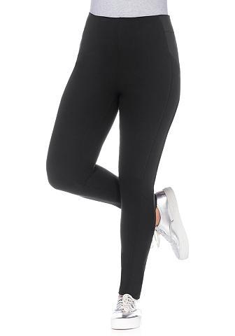 Siauras kelnės su elastingas intarpas