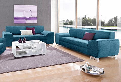 DOMO COLLECTION Rinkinys: Dvivietė sofa ir Trivietė so...