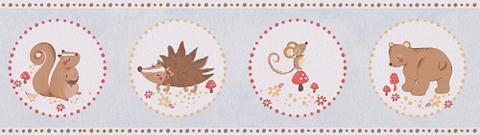 LIVINGWALLS Popieriniai tapetai »Bordüre Lovely Fr...