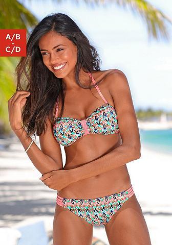 VENICE BEACH Bikini maudymosi kostiumėlis su mading...