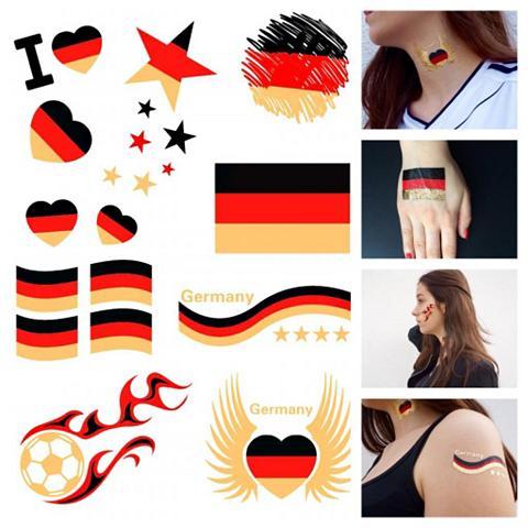 Tatuiruotė »Deutschland« Tattoos zum A...